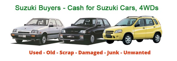 Suzuki Wreckers Perth - Cash For Wrecking Cars